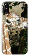 Baby Giraffe 2 IPhone Case