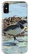 Baby Sandpiper IPhone Case