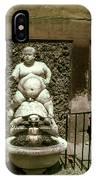 Bacchus Fountain IPhone Case