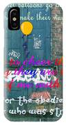 Back Alley Girl IPhone Case