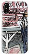 Backwards Bluegrass IPhone Case
