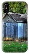 Backyard Barn IPhone Case