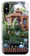 Backyard Garden IPhone Case