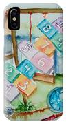 Backyard Play Simple Times IPhone Case