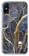 Backyard Trees IPhone Case