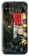 Bad Hindelang Austria At Dusk IPhone Case