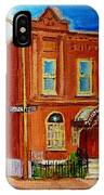 Bagg And Clark Street Synagogue IPhone Case