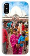 Baha'i House Of Worship - New Delhi - India IPhone Case