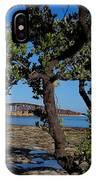 Bahia Honda Rail Bridge And Tree IPhone Case
