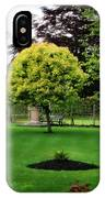 Bakewell Country Gardens - Bakewell Town - Peak District - England IPhone Case
