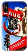 Balboa Pharmacy Drug Store Newport Beach Photo IPhone Case