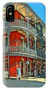 Balconies Painted IPhone Case