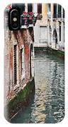 Balcony And The Gondola IPhone Case