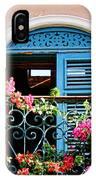 Balcony Blue By Diana Sainz IPhone Case
