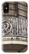 Balcony Design In Avignon IPhone Case