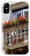 Balcony In Split Croatia IPhone Case