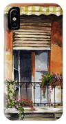 Balcony Of Ancona IPhone Case