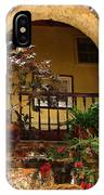 Balcony St Lucia IPhone Case