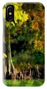 Bald Cypress 2 - Digital Effect IPhone Case