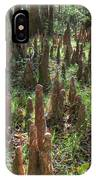 Bald Cypress Knees In Congaree National Park IPhone Case