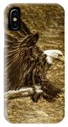Bald Eagle Capture IPhone Case