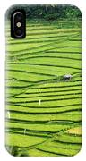 Bali Indonesia Rice Fields IPhone Case