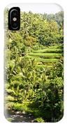 Bali Sayan Rice Terraces IPhone Case