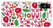 Ballet Scribble Fleur IPhone X Case