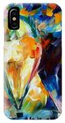 Balloon Parade - Palette Knife Oil Painting On Canvas By Leonid Afremov IPhone Case