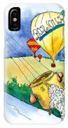 Ballooning In France IPhone Case