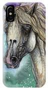 Balon Polish Arabian Horse Portrait 4 IPhone Case