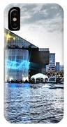 Baltimore - Harborplace - Inner Harbor At Night  IPhone Case
