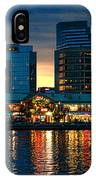 Baltimore Harborplace Light Street Pavilion IPhone Case