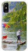 Bamboo Boat IPhone Case