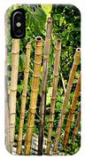 Bamboo Fencing IPhone Case