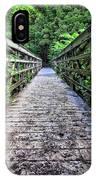 Bamboo Forest Bridge IPhone Case