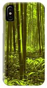 Bamboo Forest Twilight  IPhone Case