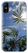 Bamboo Under The Sun IPhone Case