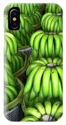 Banana Bunch Gathering IPhone Case