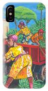 Banana Delivery In Cameroon 01 IPhone Case