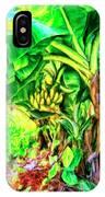 Bananas In Lahaina Maui IPhone Case