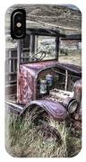 Bannack Ghost Town Truck - Montana IPhone Case