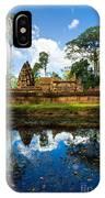 Banteay Srei - Angkor Wat - Cambodia IPhone Case