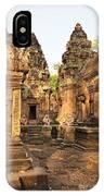 Banteay Srei, Cambodia IPhone Case