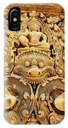 Banteay Srei Carving 01 IPhone Case
