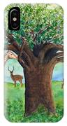 Baobab And Giraffe IPhone Case