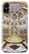 Baptistry At Saint John The Divine Cathedral IPhone Case