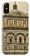 Baptistry - Florence Italy IPhone Case