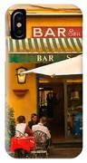Bar San Giusto IPhone Case