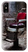 Barber Chair IPhone Case